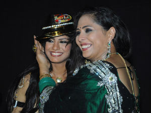 Rajasmita with Geeta Maa after winning DID 3