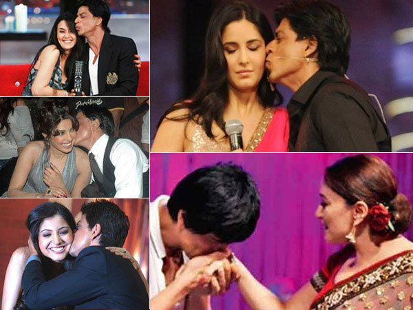Shahrukh Khan with actresses