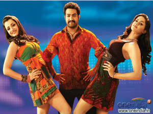 Trisha, Jr NTR and Karthika Dammu