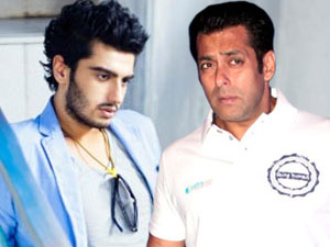 Arjun Kapoor and Salman Khan