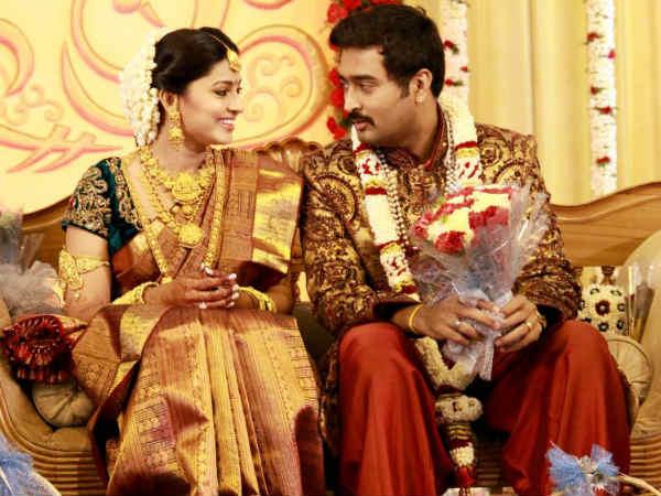 Actress Sneha Prasanna Wedding Reception Pictures Photos