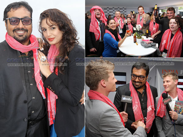 Gangs Of Wasseypur Celebrations at Cannes Film Festival