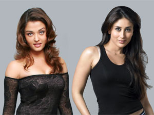 Aishwarya and Kareena