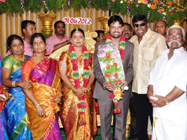 Pics: Celebrity galore at Chimbudevan's marriage