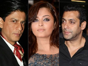 Shahrukh, Aishwarya and Salman