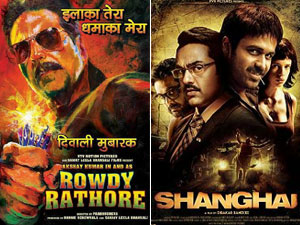Shanghai and Rowdy Rathore