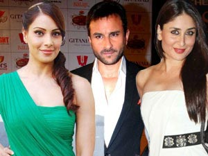 Bipasha Basu, Saif Ali Khan and Kareena Kapoor