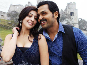 Karthi and Pranitha in Sakuni