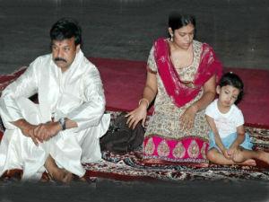 Chiranjeevi Granddaughter Suffered Injury Sangeet