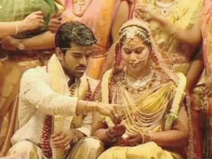 Ram Charan and Upasana marriage