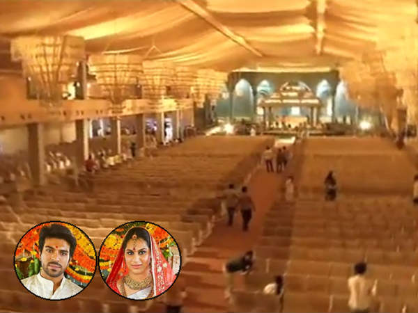 Ram Charan and Upasana Wedding Set