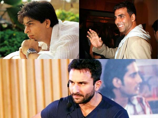 Shahrukh, Akshay, Saif - Who's the best father?