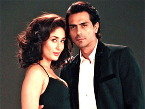 Kareena Kapoor and Arjun Rampal