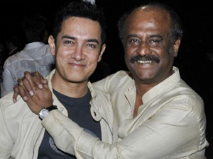 After Shahrukh, Aamir Khan to rope in Rajinikanth!