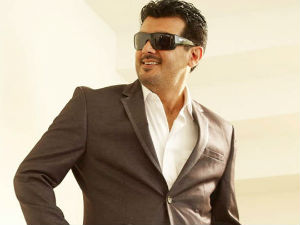 Ajith Kumar sweating it out