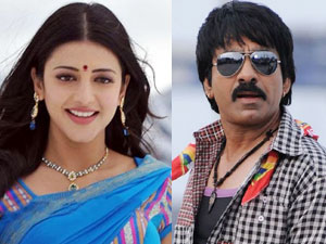 Shruti Hassan and Ravi Teja