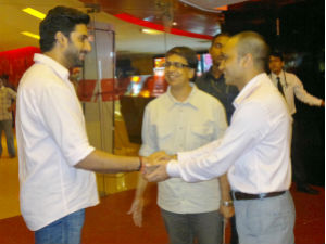 Abhishek Bachchan at Life Is Good trailer launch