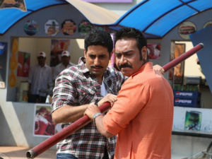 Bol Bachchan affected by Eega at Box Office