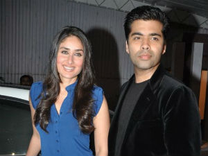 Kareena Kapoor and Karan Johar