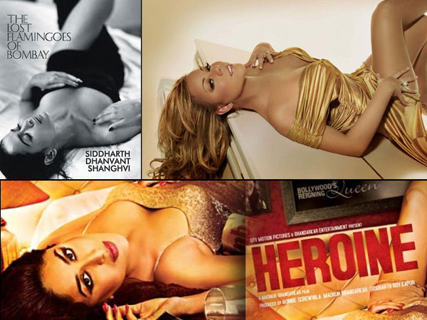 Kareena Kapoor in Heroine poster (plagarised copy)