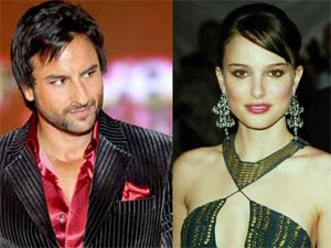 Saif and Natalie Portman