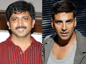 Jayam Raja to direct Akshay in Ramanna remake?