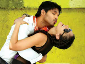 Allu Arjun and Ileana