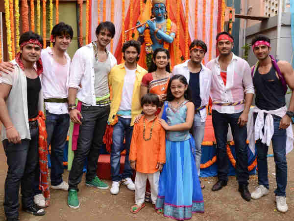 Janmashtami celebration on Colors
