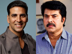 Akshay Kumar and Mammootty