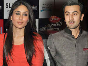 Kareena Kapoor and Ranbir Kapoor
