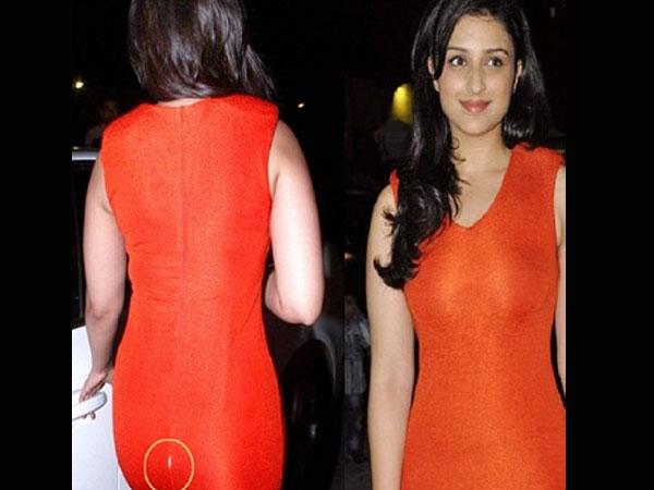 Picture Parineeti Chopras shocking wardrobe malfunction  Filmibeat