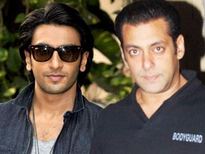 Ranveer Singha and Salman Khan