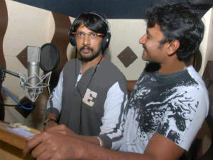 Sudeep lends his voice to Darshan!