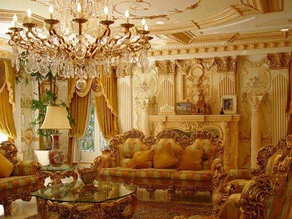 Shahrukh Khan's Living Room