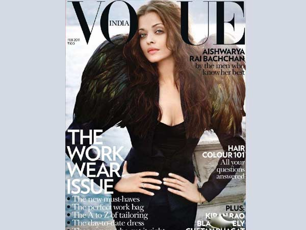 Aishwarya On Vogue Cover