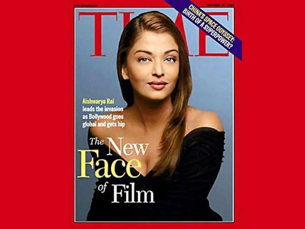 Aishwarya On Time Magazine Cover