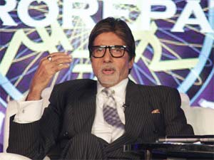 Amitabh Bachchan on KBC