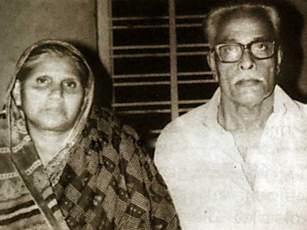 Mammootty's Parents