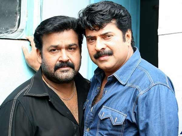 Mammootty With Best Friend Mohanlal