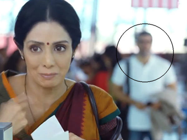 Ajith discovered in Sridevi's English Vinglish trailer