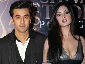 Ranbir Kapoor and Riya Sen