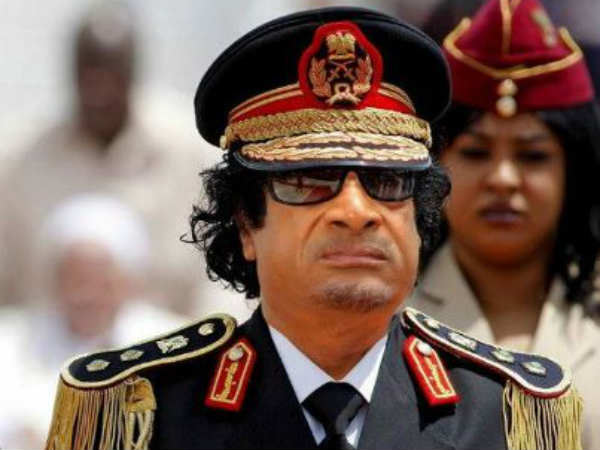 MS Narayana as Gaddafi