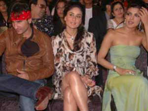 Priyanka, Kareena and Saif