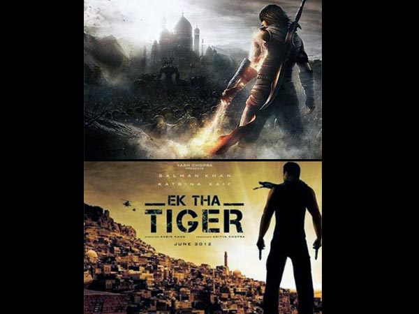 Ek Tha Tiger Poster Copied