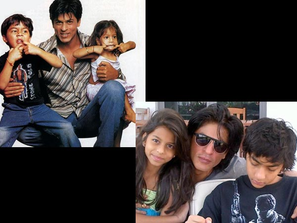 Shahrukh With Kids