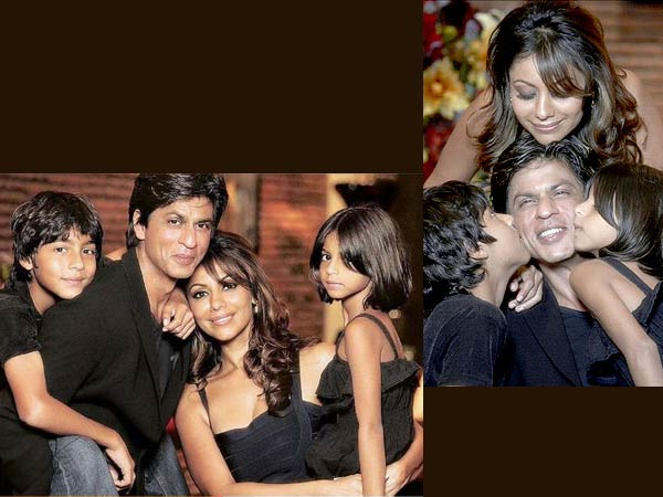 shahrukh with kids shahrukh khan says that his kids are his best    Shahrukh Khan Kids Age