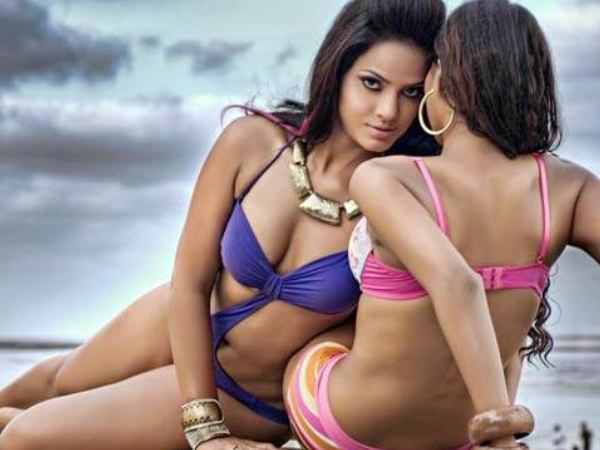 Neetu Chandra's lesbian photo shoot