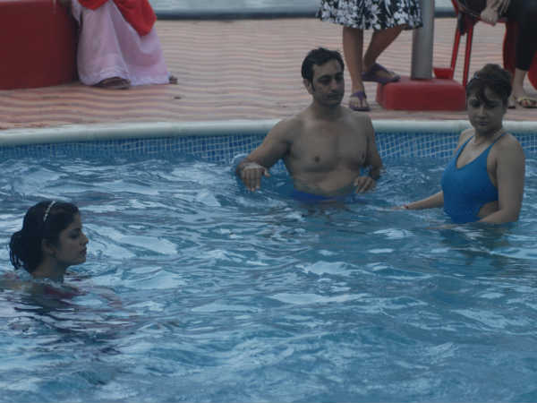Bigg Boss 6 participants in swimwear