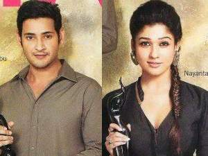 Mahesh Babu and Nayantara