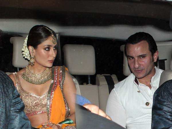 Saif and Kareena at sangeet ceremony